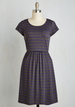 Casual Inclination Dress in Stripes