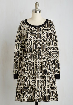 Better Tessellate Than Never Dress