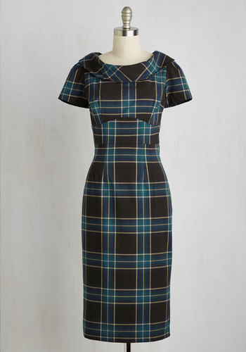 Library Luncheon Dress $189.99 AT vintagedancer.com