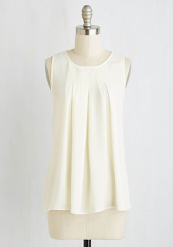 Steadfast Class Top in Ivory