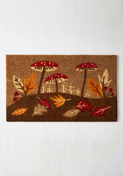 On Top of the Woods Doormat