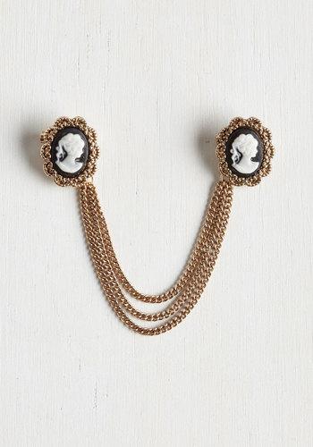 Antiquing Enthusiast Collar Pin $19.99 AT vintagedancer.com
