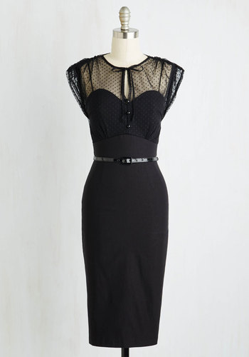 Film Noir Fatale Dress $189.99 AT vintagedancer.com
