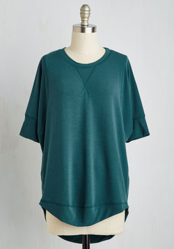 Best of Basics Top in Lagoon