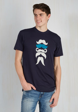 'Stache Bash Men's Tee