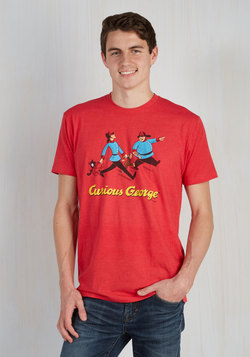 Novel Tee in Curious George - Men's