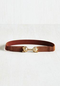Foxy Moxie Belt in Cognac