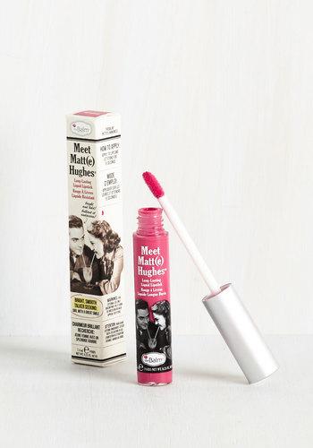 In No Time Matte Liquid Lipstick in Pink