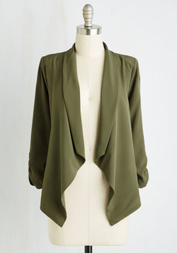 Marketing Maven Blazer in Pine