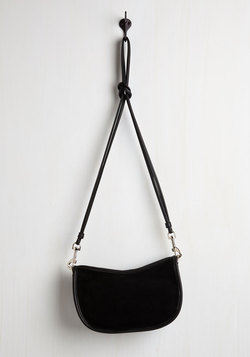 A Glam About Town Bag in Black