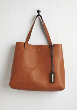 Know a Thing or Two-Tone Reversible Bag