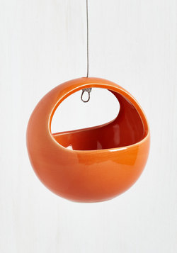 Growing Up Hanging Planter in Persimmon