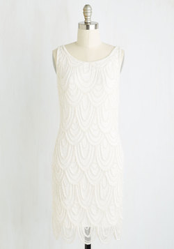 Roaring Reception Dress in White