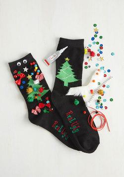 Show Off Your Creativi-Tree DIY Socks