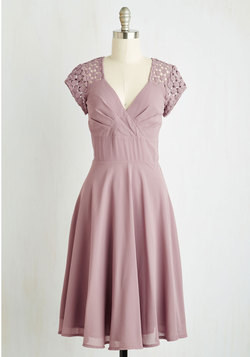 Put a Bard On It Dress in Dusty Lilac