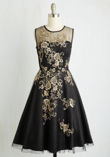 Dreamy Meets Dazzling Dress $169.99 AT vintagedancer.com