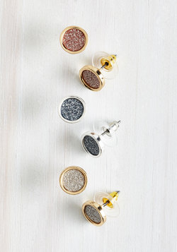 Lobe and Behold Earring Set