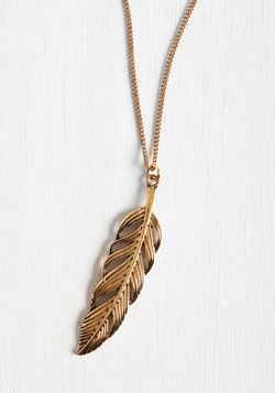 Spotlight as a Feather Necklace