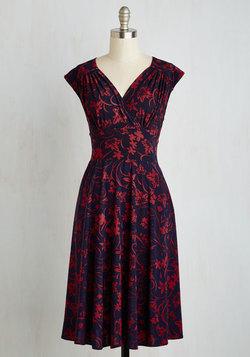 Ease into Elegance Dress in Floral