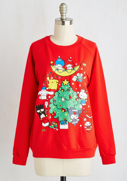 Hello, Holiday Party! Sweatshirt