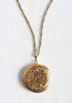 Locket Full of Sunshine Necklace