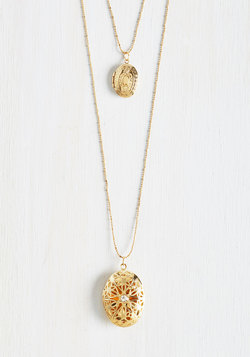Locket, Love It, Need It Necklace