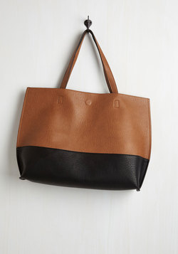 Colorblock and Stroll Bag in Cappuccino