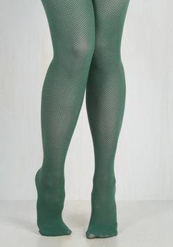 Root of the Flatter Tights in Viridian