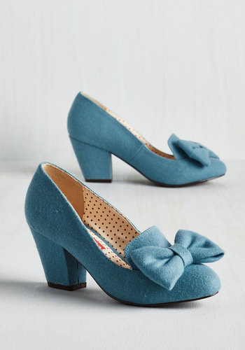 Peppy Planner Heel in Sky $71.99 AT vintagedancer.com
