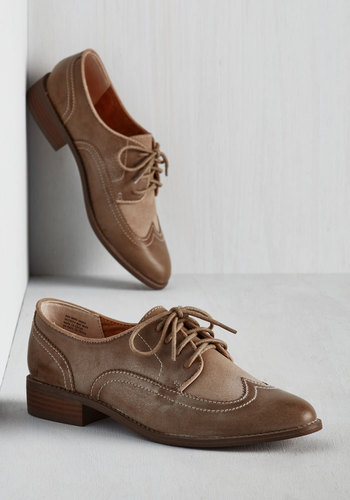 Every Day of the Sleek Flat in Cappuccino $89.99 AT vintagedancer.com