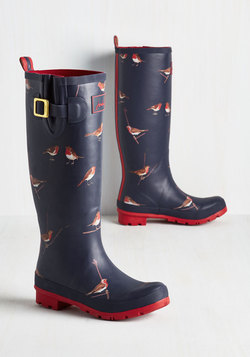 Splash the Time Rain Boot in Robins