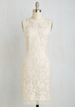 Rehearsal Dinner Darling Dress in Ivory