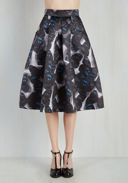 Loveliest Luncheon Skirt in Butterflies