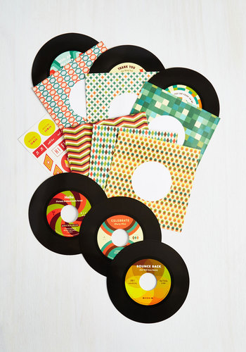 Strike a Note Greeting Card Set by Chronicle Books - Multi, Music, Graduation, Good, 50s, Press Placement, Top Rated