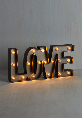 My Light in Shining Amour Lamp