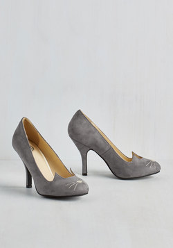 Mew and Me Forever Heel in Slate