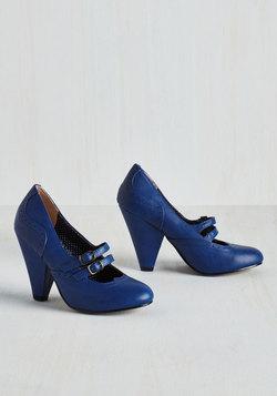 Follow Your Sweetheart Heel in Sapphire