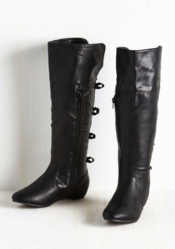 My Glide and Joy Boot in Black