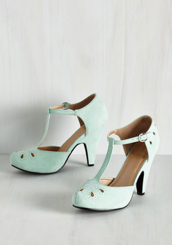 The Zest Is History Heel in Mint