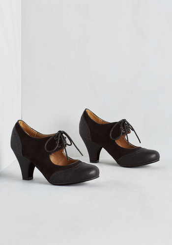 Its a Sure Fete Heel in Black $44.99 AT vintagedancer.com