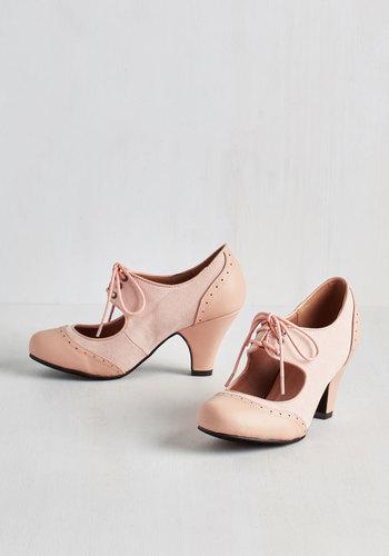 Its a Sure Fete Heel in Petal $44.99 AT vintagedancer.com
