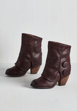Faithful Footsteps Bootie in Cabernet
