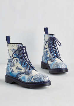 March Through Manhattan Boot in Antique Delft