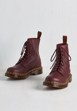 March Through Manhattan Boot in Maroon
