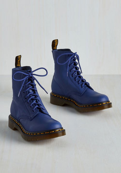 March Through Manhattan Boot in Cobalt