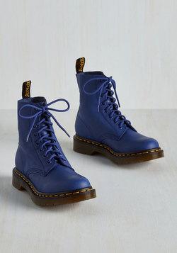 March Through Manhattan Boot in Cobalt