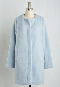 Tender Loving Carriage Ride Coat in Frost