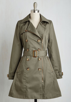 Throw a Trench in Things Coat