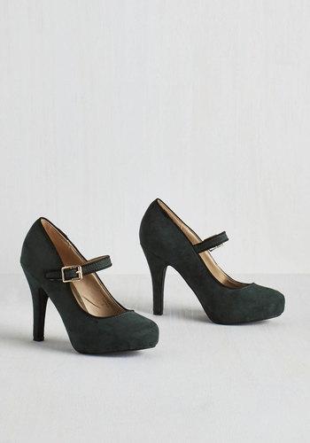Balcony Believer Heel in Conifer $39.99 AT vintagedancer.com