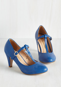 From A to Chic Heel in Cerulean